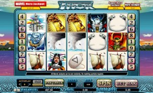 William Hill Casino :: Thor - NEW Marvel Jackpot Slot - PLAY NOW!