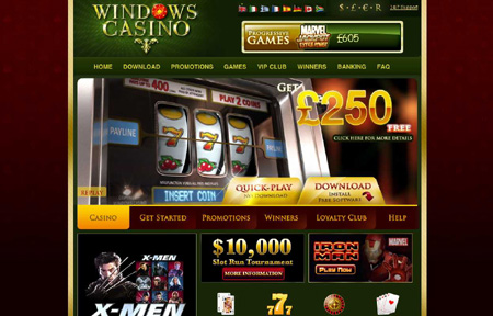Windows Online Casino