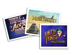 CasinoClub :: Three new games: Mystic Island, Joker Poker Multi Hand, Triple Ace Poker