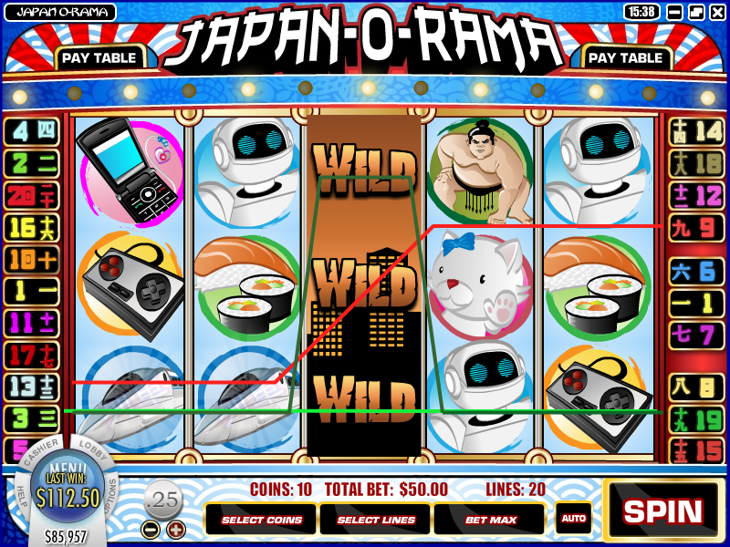 Japan Fortune Slot Machine - Play this Game for Free Online