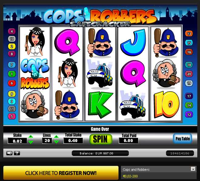 online casino norsk cops and robbers slots