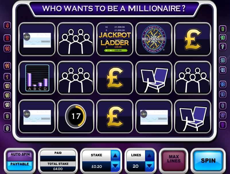 Play Who Wants To Be a Millionaire Pokie at Casino.com Australia