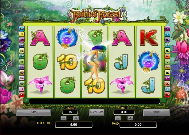 Fairies Forest™ Slot Machine Game to Play Free in PartyGamings Online Casinos