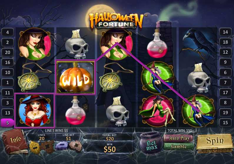 EUROPA CASINO :: NEW video slot - Halloween Fortune :: PLAY NOW!
