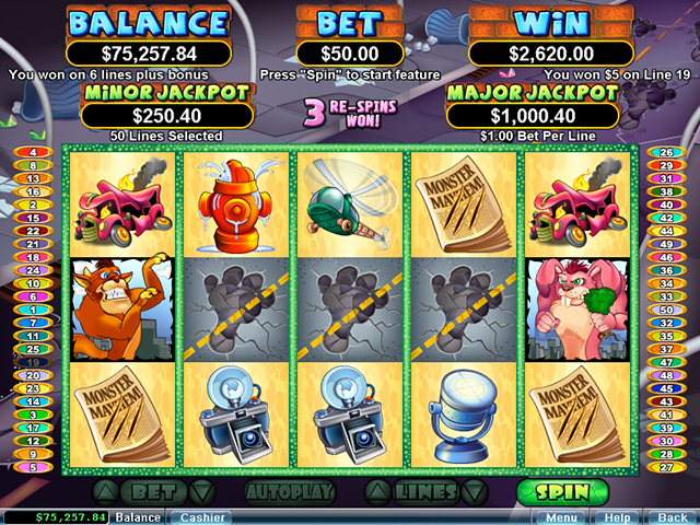 Monster Smash Slot - Try the Online Game for Free Now