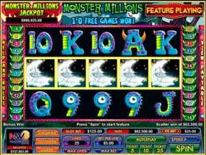 LUCKY CLUB CASINO :: Monster Millions video slot - PLAY NOW!