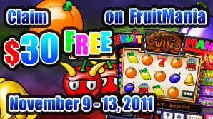 Claim $30 FREE on FruitMania