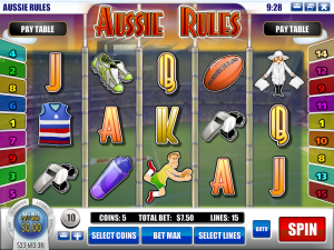 Rockbet Casino :: Aussie Rules slot game - PLAY NOW!