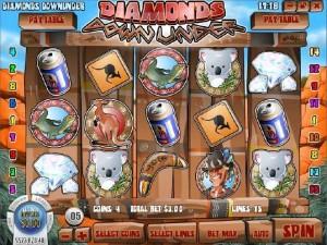 Slots Jackpot Casino :: Diamonds Downunder slot game - PLAY NOW!