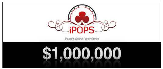iPOPS (iPoker Online Poker Series) :: Win a share of $1,000,000 !