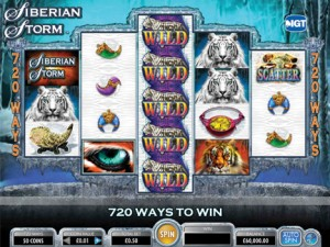 Virgin Casino :: Siberian Storm - NEW IGT Slot Game :: PLAY NOW!