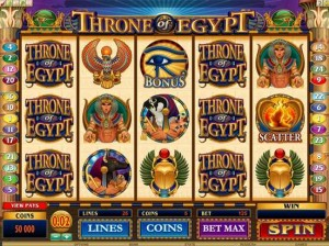 RED FLUSH CASINO :: Throne of Egypt - PLAY NOW!