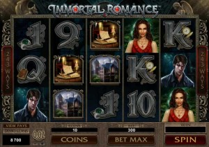 RED FLUSH CASINO :: Immortal Romance slot game - PLAY NOW!