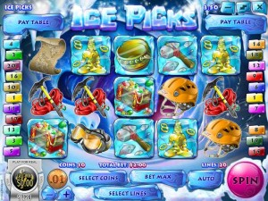 SupremePlay Casino :: Ice Picks slot game - PLAY NOW!