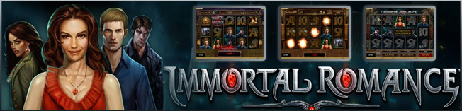 RED FLUSH CASINO :: Immortal Romance video slot - PLAY NOW!