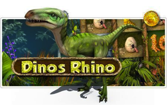 Tropezia Palace Casino :: Dinos Rhino 3D slot game - PLAY NOW!