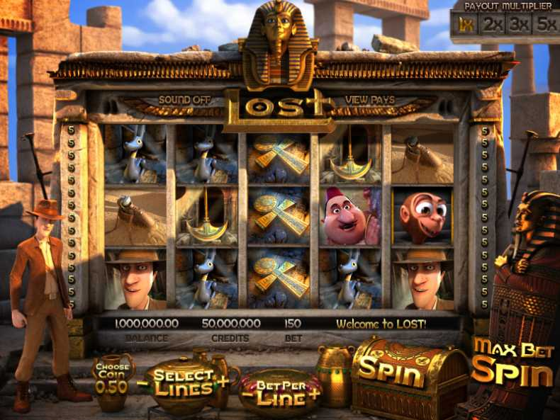 Mr Green Casino :: LOST - New 3D slot game :: PLAY NOW!