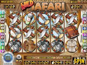 Superior Casino - Wild Safari :: 25-line, 5 Reel i-Slot - PLAY NOW!