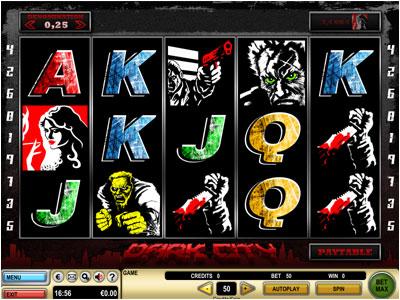 CasinoClub :: NEW Slot Game - Dark City :: PLAY NOW!
