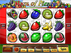 Treasure Mile Casino :: Horn of Plenty fruit machine - PLAY NOW!