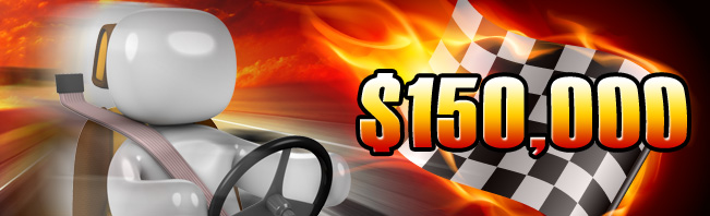 Join CasinoCom $150,000 Promotion for 10 Weeks of Races!