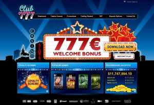 New online casino - Club777 :: PLAY NOW!