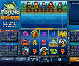 Windows Casino :: Fishing with Buddies slot game - PLAY NOW!