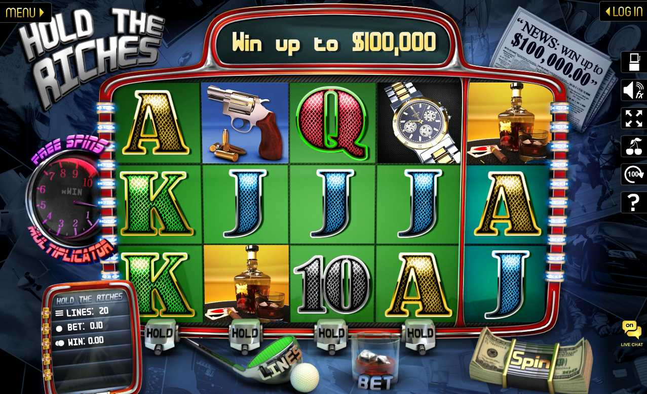 WinADay Casino :: Hold The Riches slot - PLAY NOW!