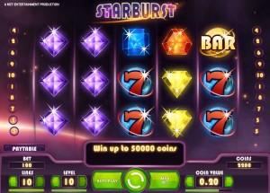 CasinoLuck :: 100 Free spins in Starburst!