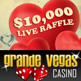 Grande Vegas Casino - $10000 LIVE RAFFLE :: US Players Welcome!