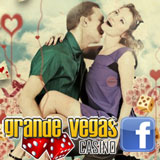 Grande Vegas Casino Players are Spreading the Love on Facebook — Free $10,000 Raffle February 15th