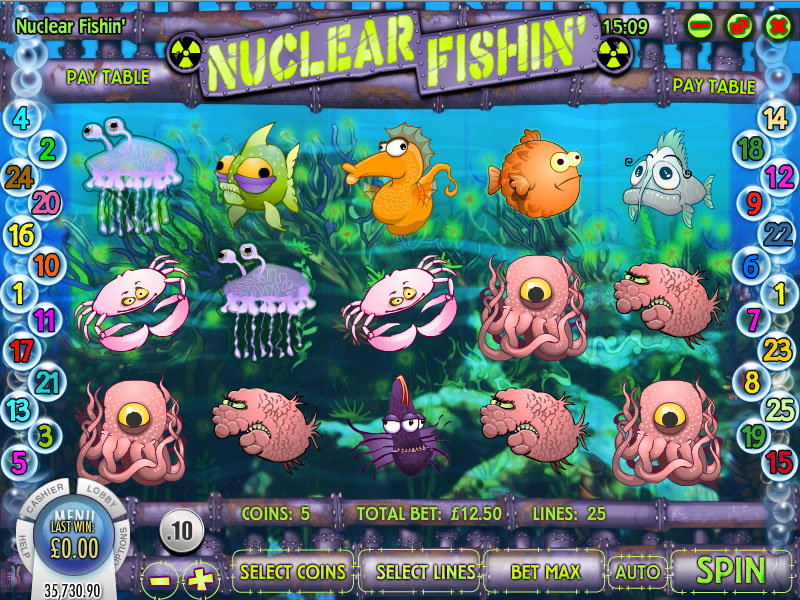 21Grand Casino :: Nuclear Fishing slot game - PLAY NOW!