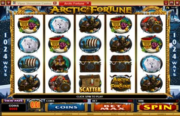 Roxy Palace Casino :: NEW Slot Game - Arctic Fortune :: PLAY NOW!
