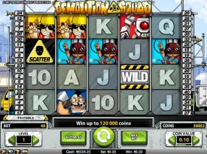 Mr. Green Casino :: Demolition Squad - NEW video slot :: PLAY NOW!