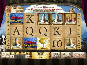 Windows Casino :: Monty Python's Spamalot slot game - PLAY NOW!