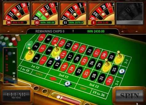 Reely Roulette :: Multiple Wheel Roulette bonus