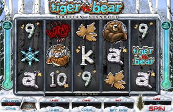 Roxy Palace Casino :: NEW Slot Game - Tiger vs Bear :: PLAY NOW!
