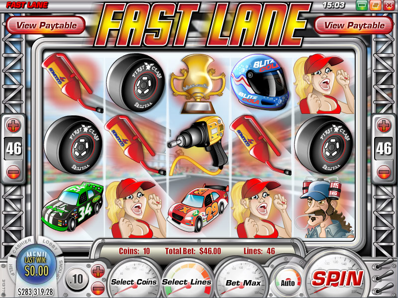 Tradition Casino :: Fast Lane slot game - PLAY NOW!