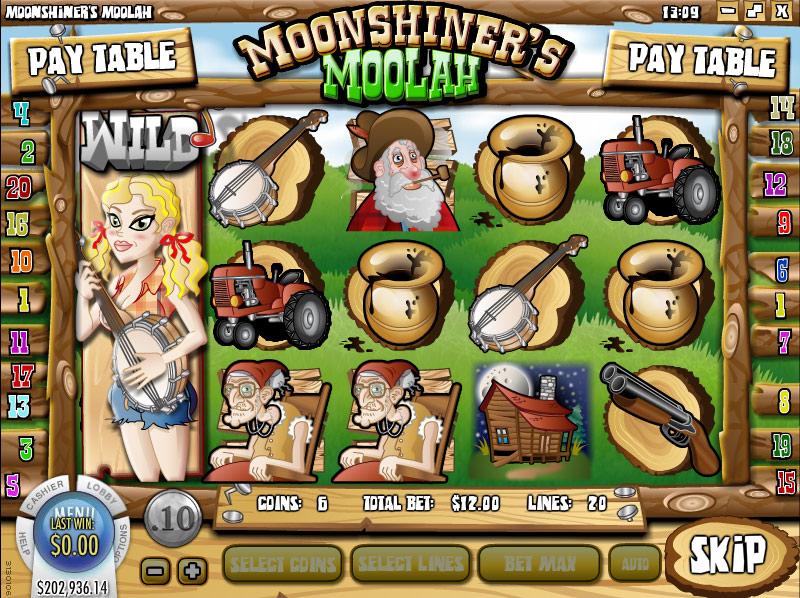 Casino FIZ :: Moonshiner's Moolah slot game - PLAY NOW!