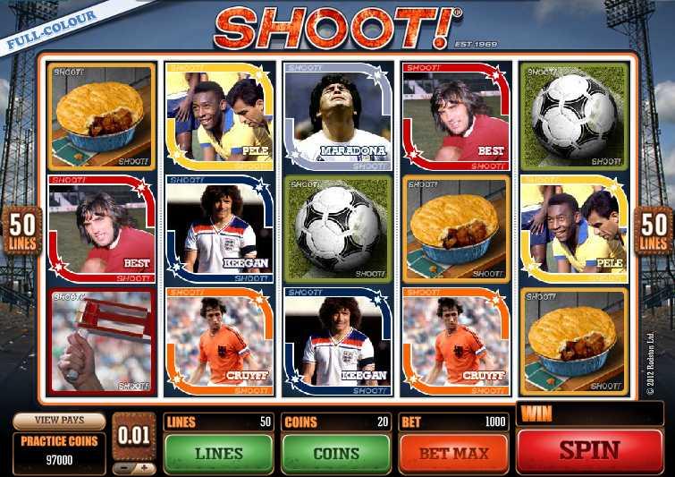 CASINO LA VIDA :: Shoot! video slot - PLAY NOW!