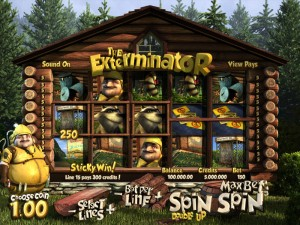 7Red Casino :: The Exterminator 3D video slot - PLAY NOW!