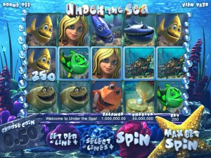 7Red Casino :: Under the Sea 3D slot game - PLAY NOW!