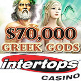 Intertops Casino :: $70000 Greek Gods Casino Bonuses - PLAY NOW!