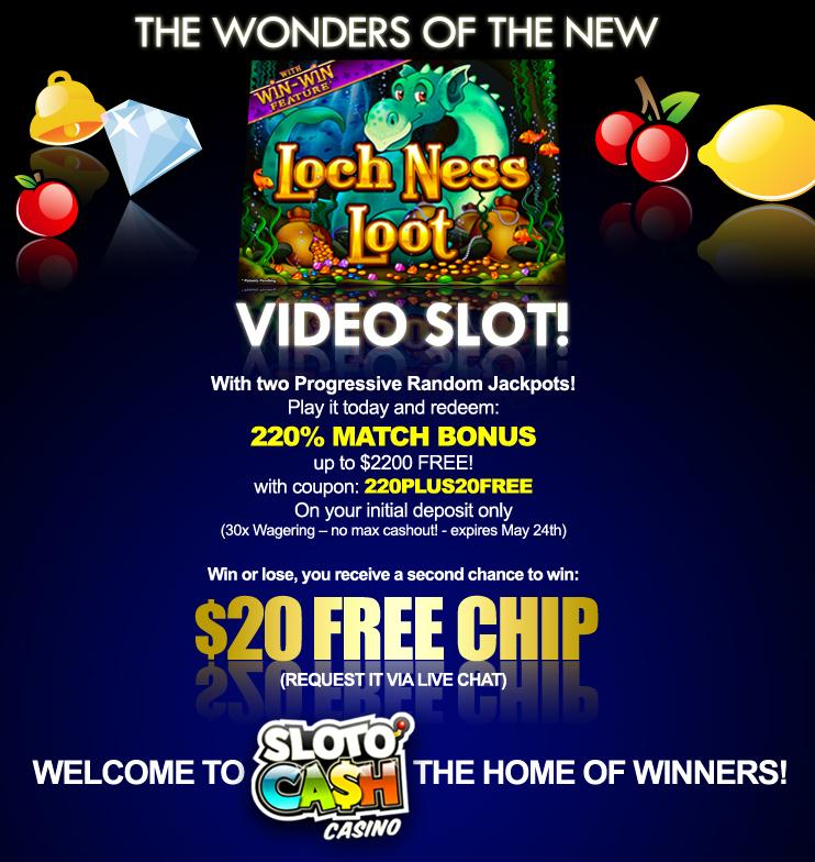 Sloto' Cash Casino - US Players Welcome!