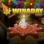 Win A Day Casino 4th Birthday Casino Bonuses