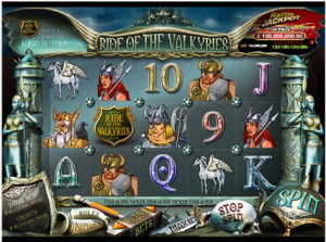 PARTY CASINO :: Ride of the Valkyries slot game - PLAY NOW!
