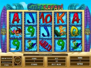 All Slots Casino :: Surf Safari video slot - PLAY NOW!