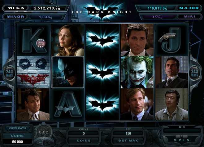 Roxy Palace Casino :: The Dark Knight video slot - PLAY NOW!