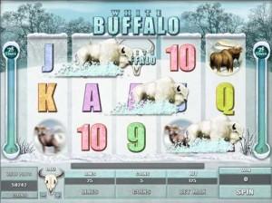 Red Flush Casino :: White Buffalo video slot - Free Spins