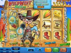 EUcasino :: Wild West Bounty FREE video slot game - PLAY NOW!